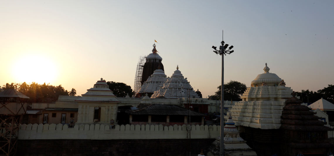 Sunset At Jagannath Temple